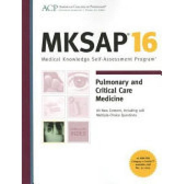 MKSAP 16 Pulmonary and Critical Care Medicine…