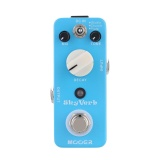 Recent Mooer Sky Verb Micro Mini Reverb Effect Pedal For Electric Guitar True Bypass Blue Intl