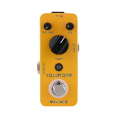 Price Mooer Yellow Comp Micro Mini Optical Compressor Effect Pedal For Electric Guitar True Bypass Intl Mooer Original