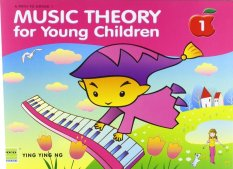 Music Theory for Young Children Book One by Ying Ying Ng - Piano Book - Music Book - Absolute Piano - The Music Works Store MB1
