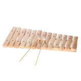 Low Cost Musical Xylophone Piano Wooden Instrument For Children Kids Baby Music Educational Toys With 2 Mallets Intl