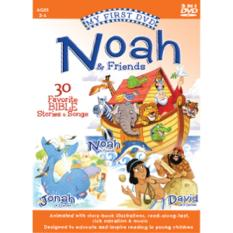 My First Bible DVD: Noah & Friends