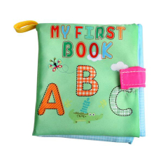 Newborn Baby Cloth Learning Book (letter) By Welcomehome.