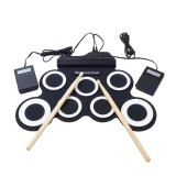 How To Get Niceeshop Portable Electronic Roll Up Drum Pad Instrument Gift Kit Silicon Foldable With Stick