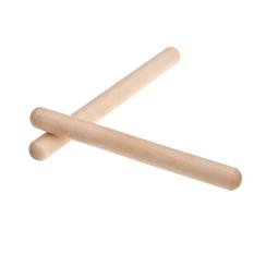 Pair Of Rhythm Sticks Birch Kid Children Musical Toy Gift Percussion Instrument By Tomtop.