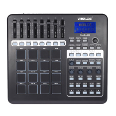 Get Cheap Panda200 Portable Usb Midi Pad Controller 16 Drum Pads With Usb Cable Intl