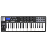 Best Price Panda49 49 Key Usb Midi Keyboard Controller 8 Drum Pads With Usb Cable Intl