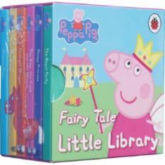 Peppa Pig Little Library & Fairy Tale Book