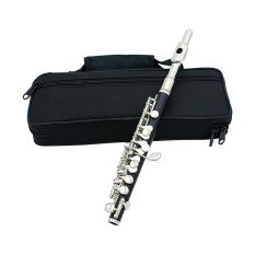 Buy Piccolo Ottavino Half Size Flute Cupronickel Silver Plated C Key Tone With Polish Cloth Cleaning Stick Padded Box Case Screwdriver Intl Online China