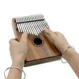 Portable 17 Key Kalimba Mbira Pocket Thumb Piano Solid Acacia Musical Instrument Gift For Music Lovers Beginner Students Intl Online