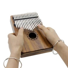 Portable 17 Key Kalimba Mbira Pocket Thumb Piano Solid Acacia Musical Instrument Gift For Music Lovers Beginner Students Intl Price Comparison