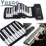 Portable 61 Keys Roll Up Soft Silicone Electronic Digital Music Piano Keyboard Intl In Stock
