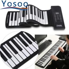 Buy Portable 61 Keys Roll Up Soft Silicone Electronic Digital Music Piano Keyboard Intl Cheap China