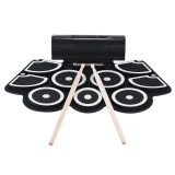 Sale Portable Electronic Roll Up Drum Pad Set 9 Silicon Pads Built In Speakers With Drumsticks Foot Pedals Usb 3 5Mm Audio Cable Intl Hong Kong Sar China
