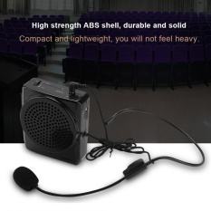 Best Buy Portable Rechargeable Voice Loud Booster Amplifier Microphone Teaching Speaker W Waistband Us Intl