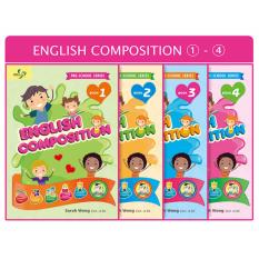 Preschool Series 16 Books Whole Set - English Vocabulary, English Grammar, English Composition, English Comprehension
