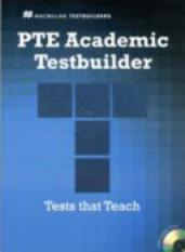 PTE Academic Testbuilder Student Book with Audio CDs (Author: Macmillan Testbuilders, ISBN: 9780230427860)