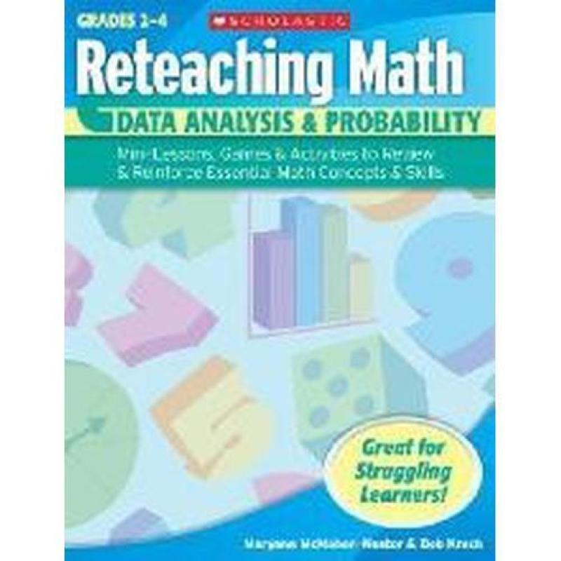 Reteaching Math: Data Analysis & Probability Gr 2 to 4