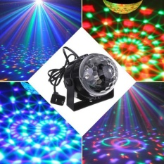 Rgb Effect Stage Lighting 5W Crystal Auto Sound Magic Ball Disco Light Dmx Laser Party Dj Club Lamp Intl On Line