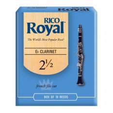 Rico Royal Eb Clarinet Reeds RBB1025, Strength 2.5, 10-pack