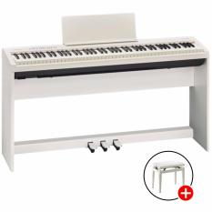 Sale Roland Fp 30 Digital Piano White With Adjustable Bench