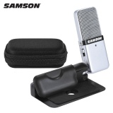 Best Reviews Of Samson Go Mic Mini Portable Recording Condenser Microphone Clip On Design With Usb Cable Carrying Case For Computer Notebook Tablet Pc Intl