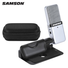 Discount Samson Go Mic Mini Portable Recording Condenser Microphone Clip On Design With Usb Cable Carrying Case For Computer Notebook Tablet Pc Intl Not Specified On China
