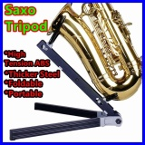 Saxophone Stand Bracket Band Sax Stand Easy To Carry Foldable Tripod Monopod Bipod Jazz Showcase Triangular Rack Mount Holder Spider Display Intl Shop