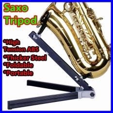 Brand New Saxophone Stand Bracket Band Sax Stand Easy To Carry Foldable Tripod Monopod Bipod Jazz Showcase Triangular Rack Mount Holder Spider Display Intl