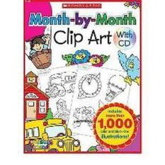 SC511924 MonthbyMonth Clip Art Book