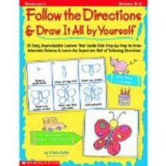 SC914007 Follow the Directions & Draw It All by Yourself!