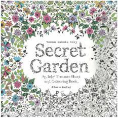 Secret Garden Malay Edition An Inky Treasure Hunt Coloring