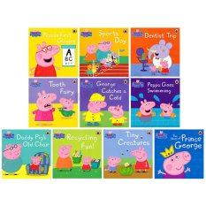 Series 3 Ladybird Peppa Pig Story Book Set - Early Education Enrichment English For 1-7 Years By Ichiban Kids.