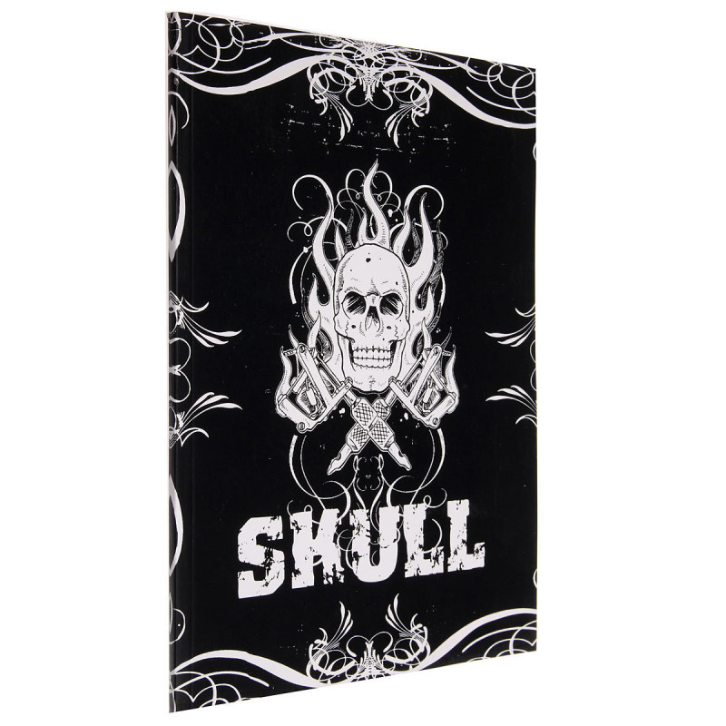 Skull Design Sketch Book Tattoo Works Art Supplies A4 76 Pages(Export)(Intl)