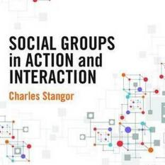 Social Groups in Action and Interaction (Author: Charles Stangor, ISBN: 9781848726925)