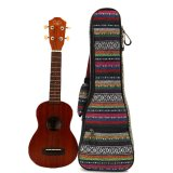 Purchase Soft Padded Cotton Folk Style Hand Portable Bag Case Cover For 21 Inch Ukulele Intl