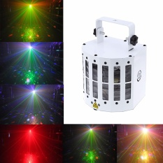 Sound Active Laser Projector Dmx512 Led Rgbwy Dj Strobe Stage Light Intl Lower Price