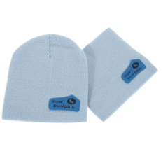 Spring Autumn Cap + Scarf Children Hedging Scarf(sky Blue) - Intl By Sportschannel.