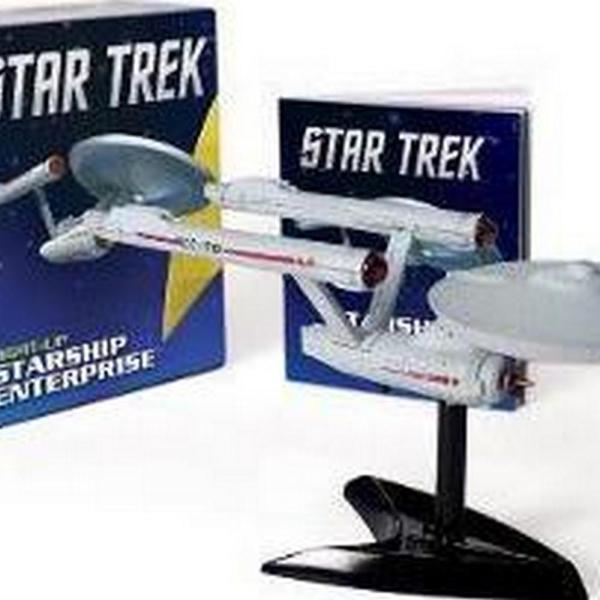 Star Trek: Light-Up Starship Enterprise (Author: Chip Carter, ISBN: 9780762449897)