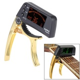 Tcapo20 Multifunctional Aluminum Alloy 2 In 1 Guitar Capo Tuner With Lcd Screen For Normal Acoustic Folk Electric Guitar Chromatic Bass Intl Discount Code