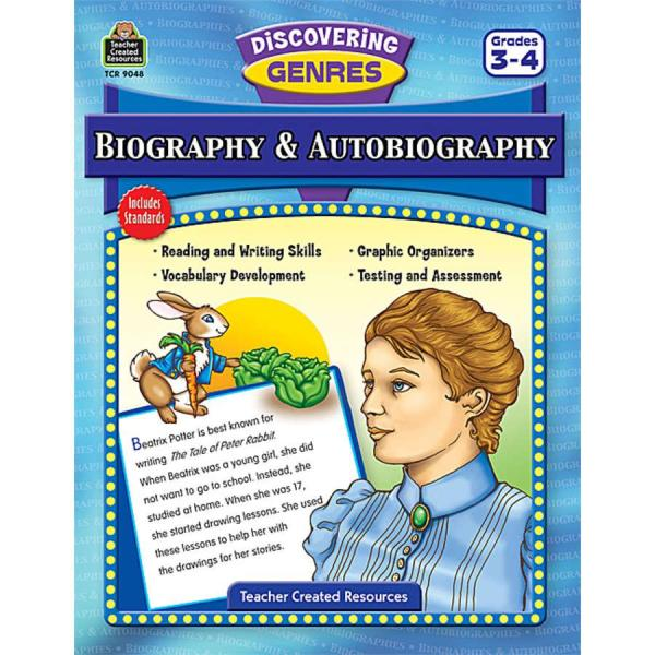 TCR9048 Discovering Genres: Biography & Autobiography