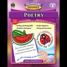 TCR9051 Discovering Genres: Poetry Gr. 3 to 4
