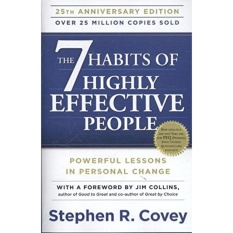 The 7 Habits of Highly Effective People: Powerful Lessons in Personal Change Paperback - intl