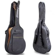 Great Deal Thickening Backpack Double Straps Waterproof Acoustic Guitar Bag Pad Oxford Soft Case For 40 41 Inch Guitar Gig Bag Intl