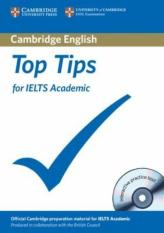 Top Tips for IELTS Academic Paperback with CD-ROM (Author: Cambridge ESOL, ISBN: 9781906438722)