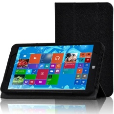 Tri-fold Folio PU Leather Case Stand Cover For CHIWU VI8 - intl