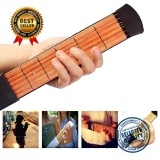 Price Upgraded Portable Pocket Acoustic Guitar Practice Tool Gadget Chord Trainer 6 String 4 Fret Model For Beginner Intl China