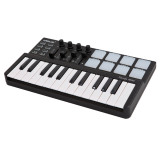Worlde Panda Mini Portable Mini 25 Key Usb Keyboard And Drum Pad Midi Controller Export Review