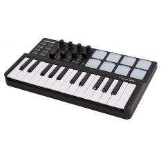 Top Rated Worlde Panda Mini Portable Mini 25 Key Usb Keyboard And Drum Pad Midi Controller Export