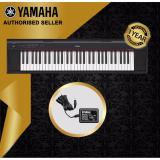 Best Buy Authorized Seller Yamaha Np 12 Piaggero 61 Keys Portable Keyboard Piano Black